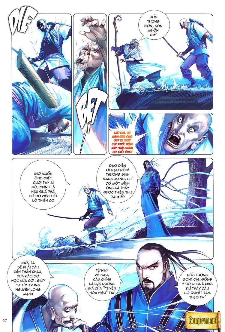 Phong Vân chap 621 Trang 7 - Mangak.info