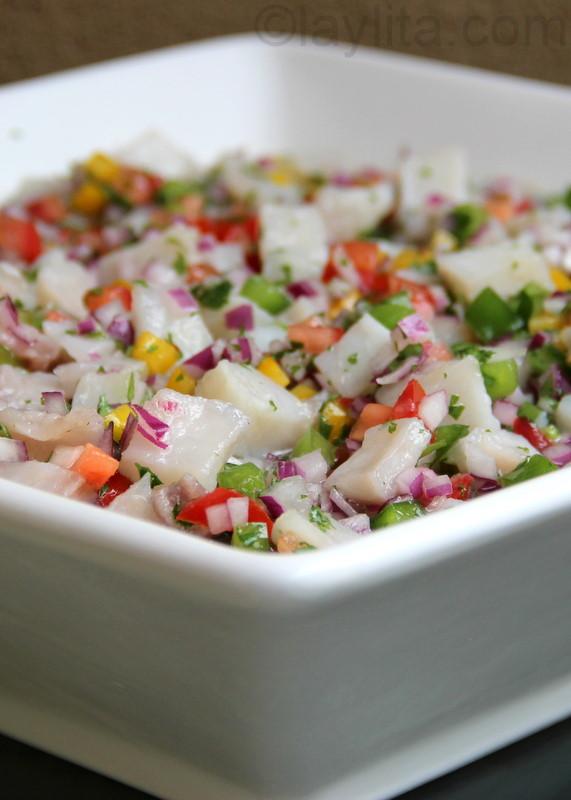 Ceviche ecuadorian cuisine fish