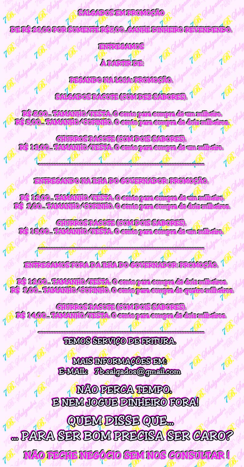 Tabela, Promoção, 7b salgados
