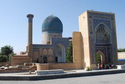 Gur-e Amir, Timur's mausoleum, Samarkand