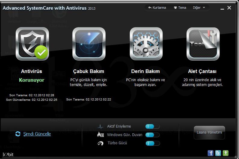 Advanced System Care     Seriali