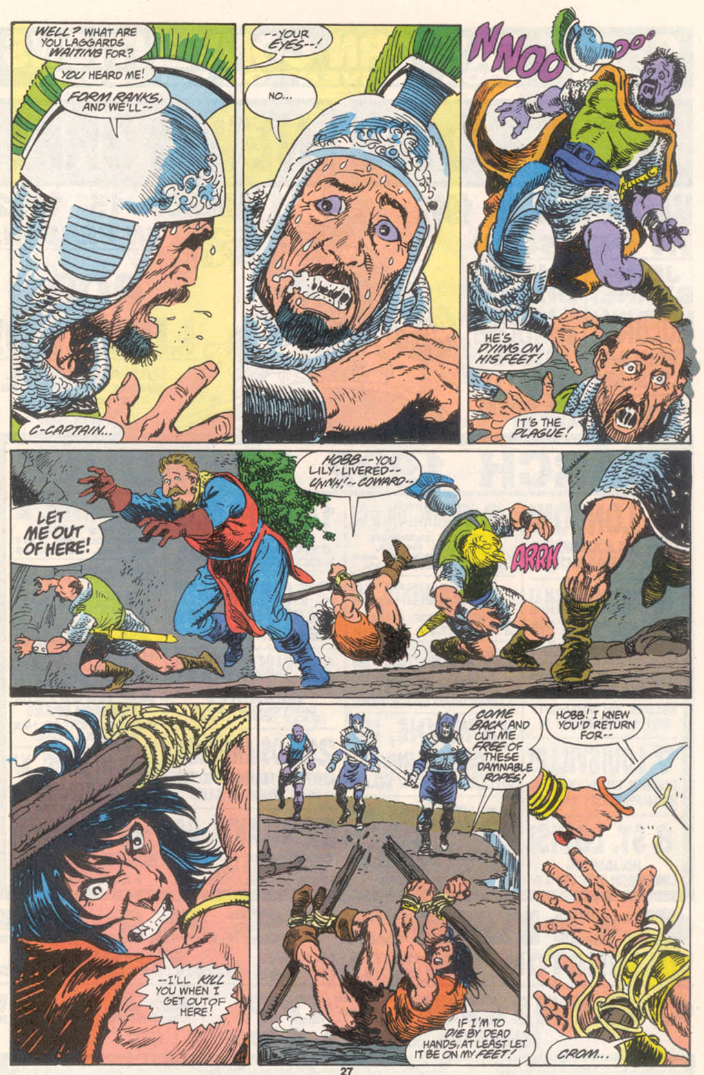 Conan the Barbarian (1970) Issue #255 #267 - English 21