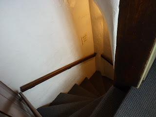 Estrechez de la escalera