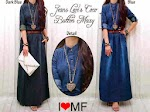 071849 Gamis Jeans Washed SOLD OUT