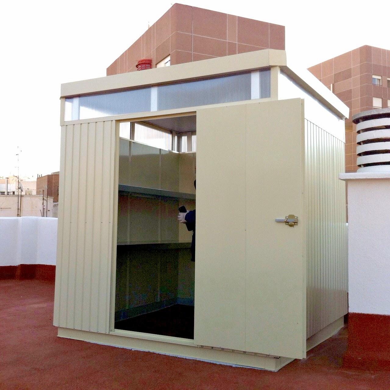 Trasteros met licos para terraza y jard n ltimas for Trasteros para terrazas