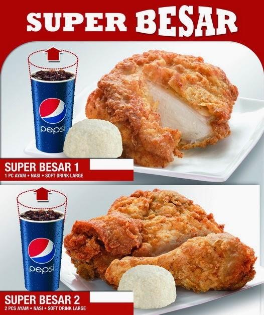 Harga KFC Super Besar