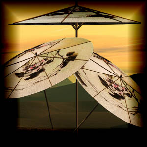 "Free scrapbook ""Asian Umbrellas"" from mgtcsdigitalartstuff Full Size"