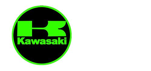 Logo Z650 Vert Titane Pour Kawasaki 2017 CNC