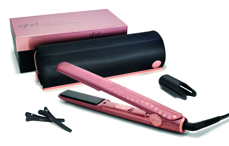 ghd rose gold styler