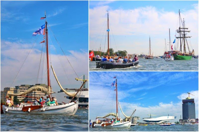 Veleros en IJhaven Sail Amsterdam 2015