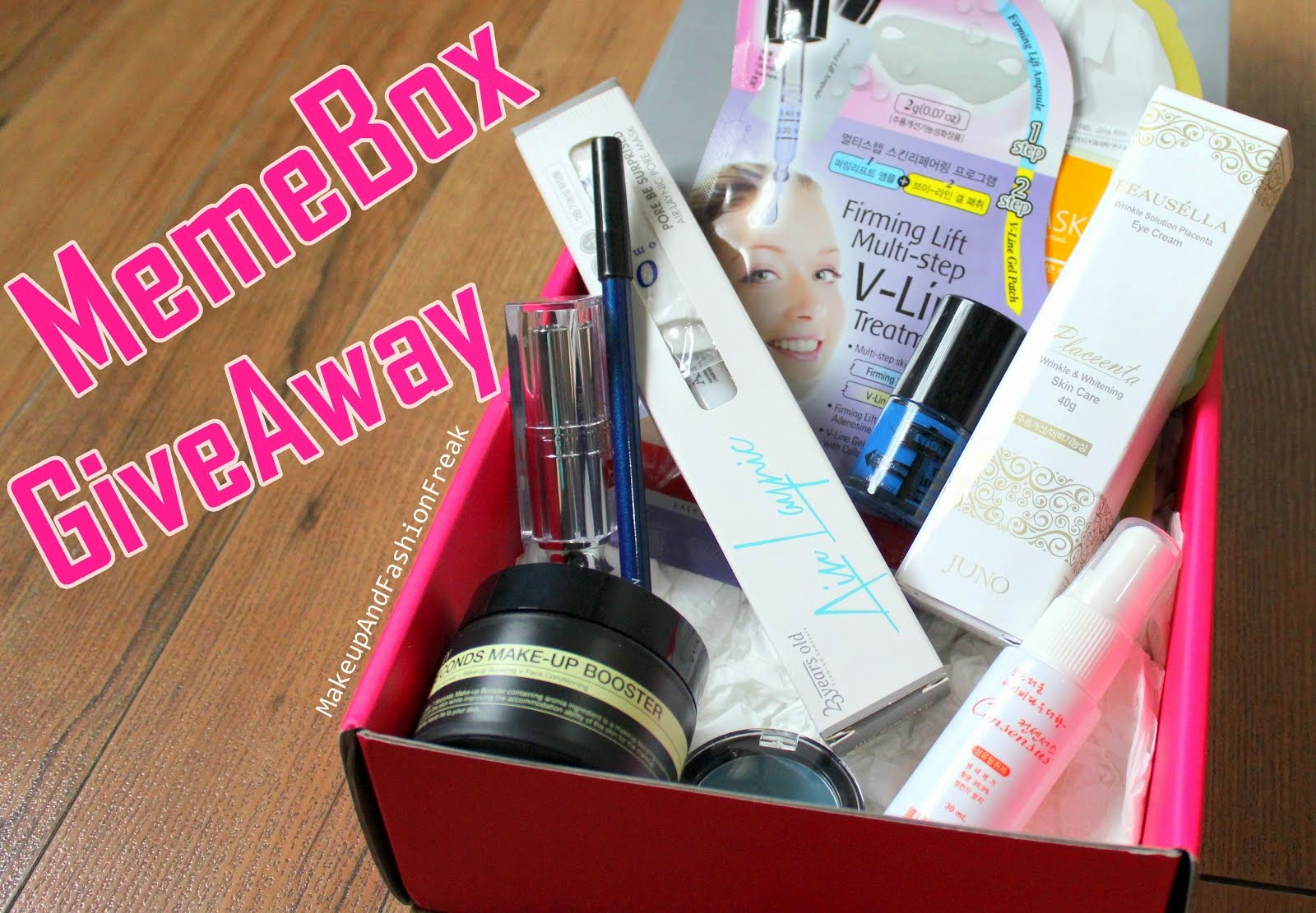 Memebox Giveaway