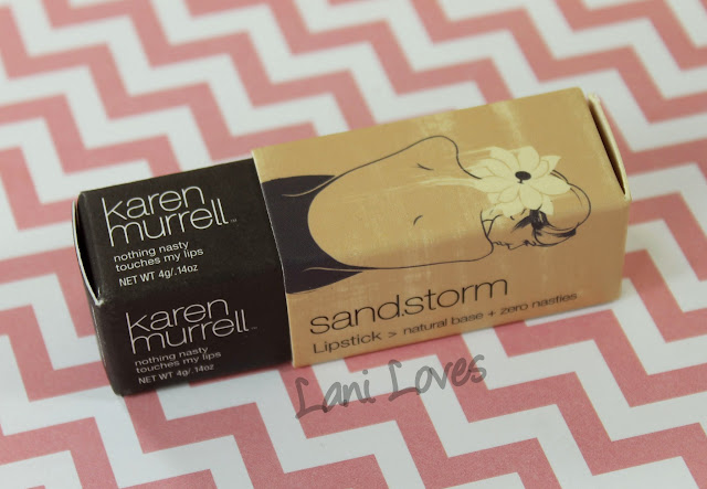 Karen Murrell - Sand Storm Lipstick Swatches & Review