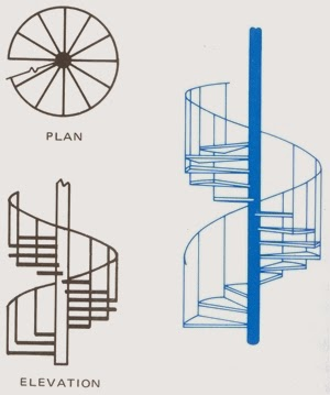 How to build a wooden spiral staircase stairs designs for Spiral staircase plan