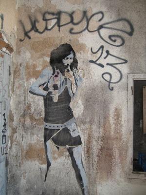 Stencil, Streetart, Graffiti