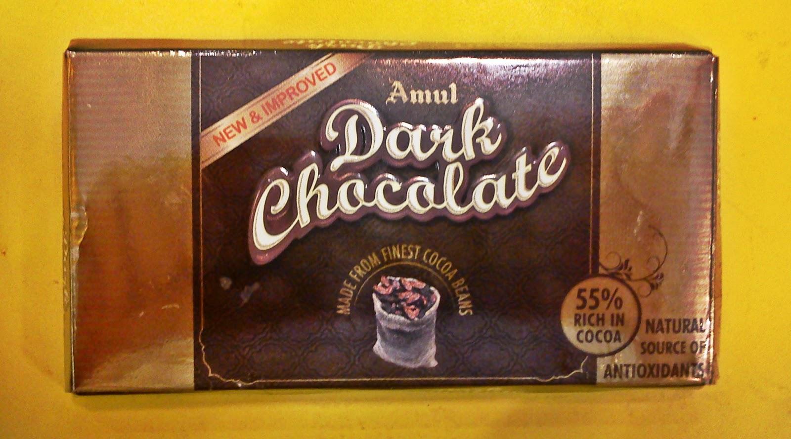 Chocosophy Amul Dark Chocolate