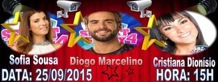 Sofia e Diogo vão voltar a estar juntos no dia 25 de Setembro