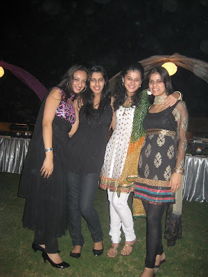 taapsee rare with her friendsfamily latest photos