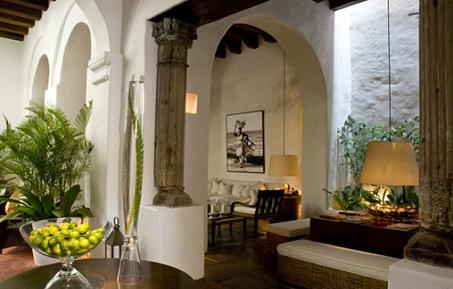 Mi selecci n de hoteles en cartagena de indias colombia for Casas coloniales interiores