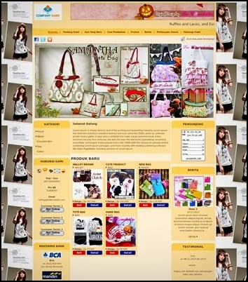 "WEBSITE ONLINE SHOP ""PALING MURAH"" Rp. 499.900"