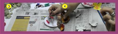 Como hacer las flores de cartón de huevo