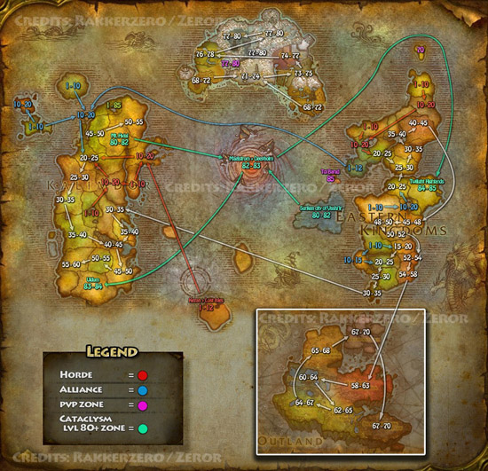 Alliance Leveling Guide Cata Molten : The Proper Mmorpg Of All Time   World Of Warcraft