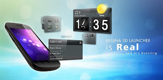 Regina 3D Launcher Pro v1.2.0 APK Full Version