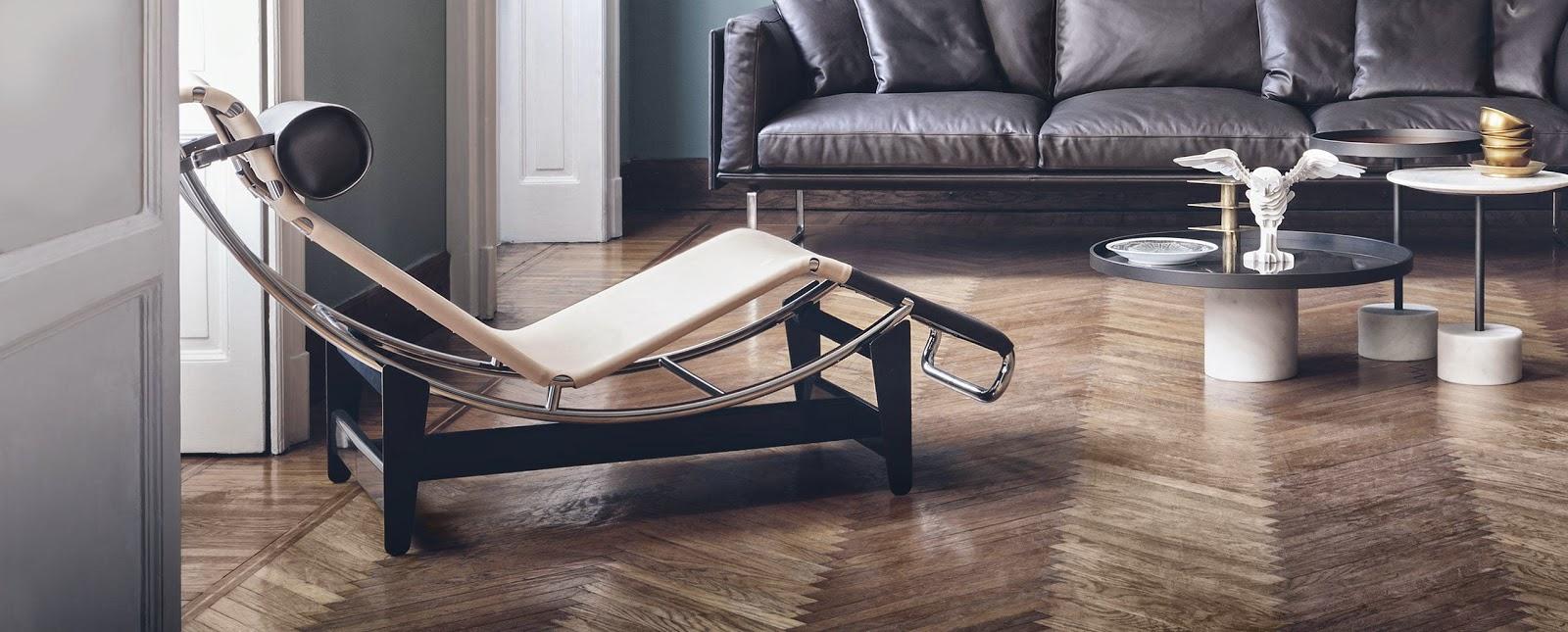 Deliving design craft wedeco pasa palabra - Fauteuil le corbusier lc4 ...