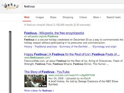 Google Festivus