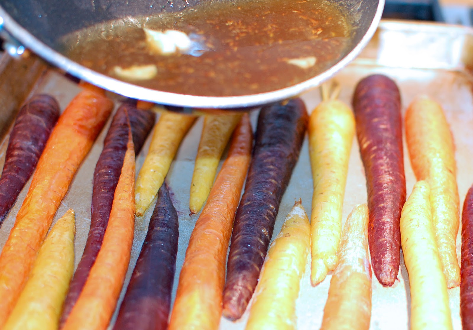 Sorghum-Glazed Baby Carrots Recipes — Dishmaps