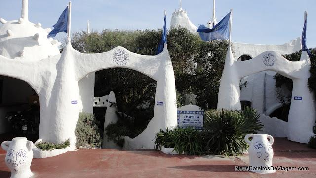 Entrada da Casapueblo - Punta del Este, Uruguai