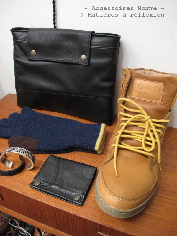 Sneakers Piola homme, Pochette iPad cuir homme, Gants Jo Gordon homme