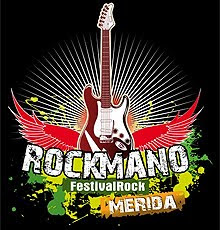 Todo preparado para el Festival Rockmano de Mérida