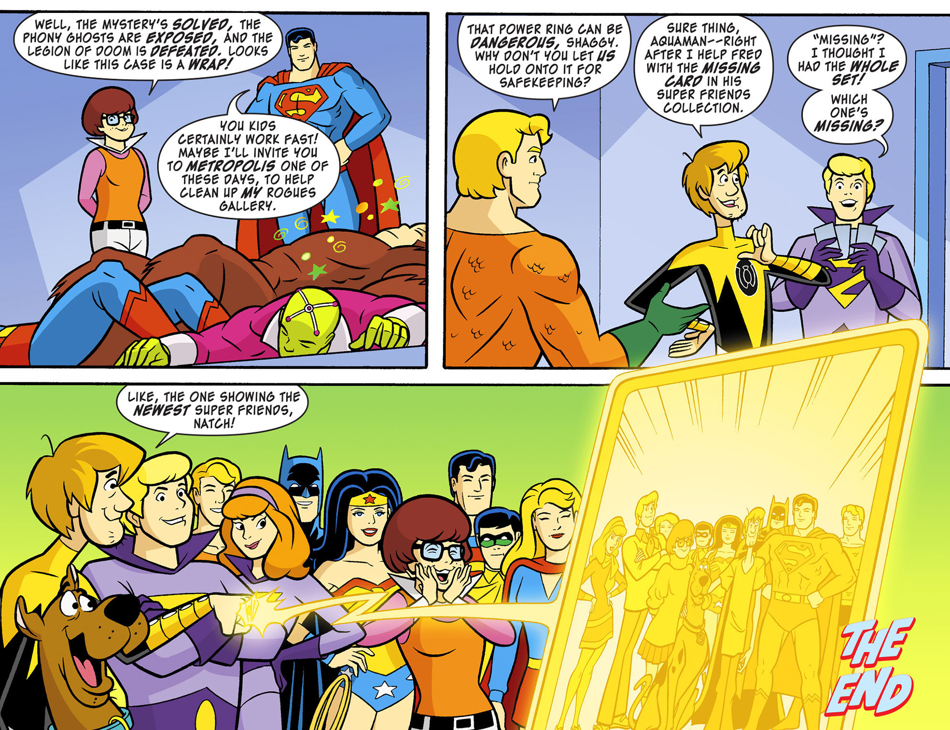 Read online Scooby-Doo! Team-Up comic -  Issue #12 - 22