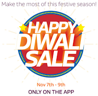 (Last Day) Flipkart Happy Diwali Sale on 7th to 9th Nov only on Flipkart App