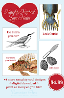 Cape Cod wedding blog photo from Concertina Press - Stationery and Invitations about Free DIY Printable Nautical Gift Tags Featuring a Lobster, Fish, Cuttlefish and a Fiddler Crab