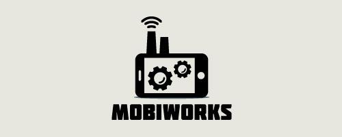 Mobiworks Logo Design