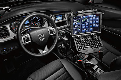Dodge Charger Cop Car Modern Dashboard