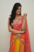 sri mukhi glam pix in half saree-thumbnail-5