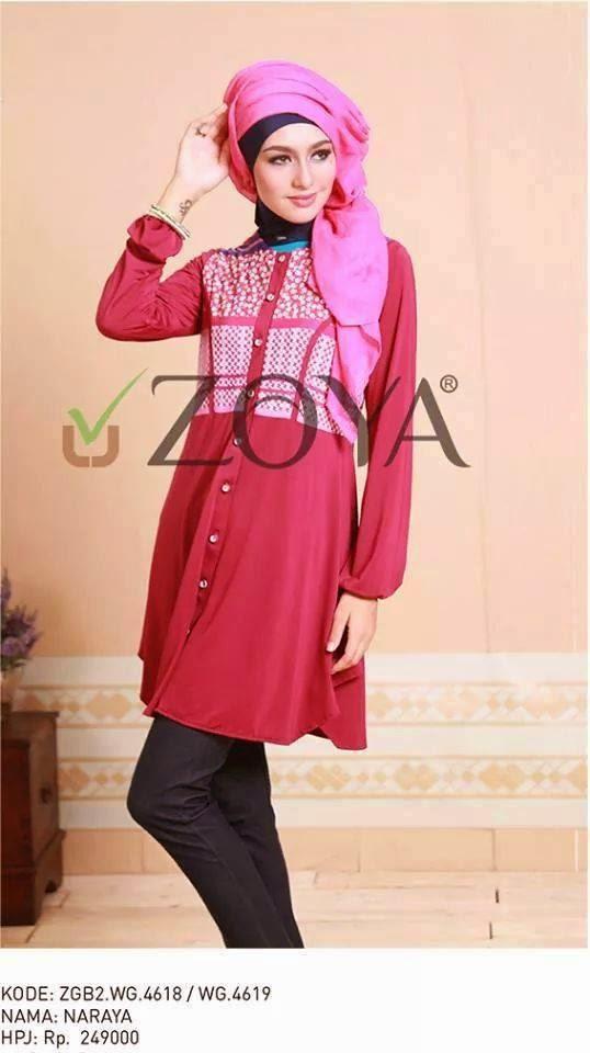 Muslim Zoya ,Busana Muslim Zoya Edisi Lebaran , Busana Muslim Zoya