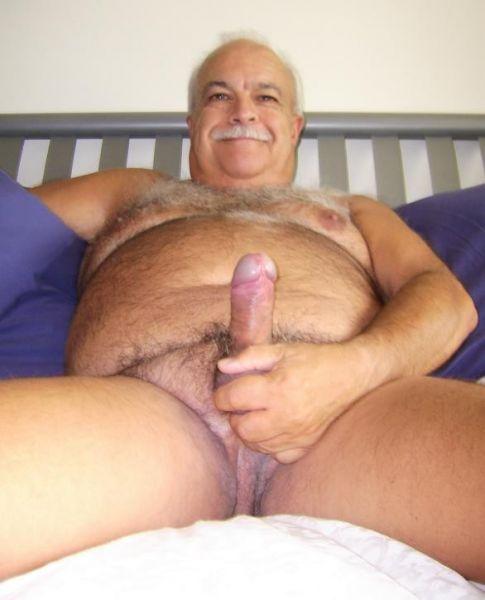 Naked Oldermen Grandpa Hairy Gay