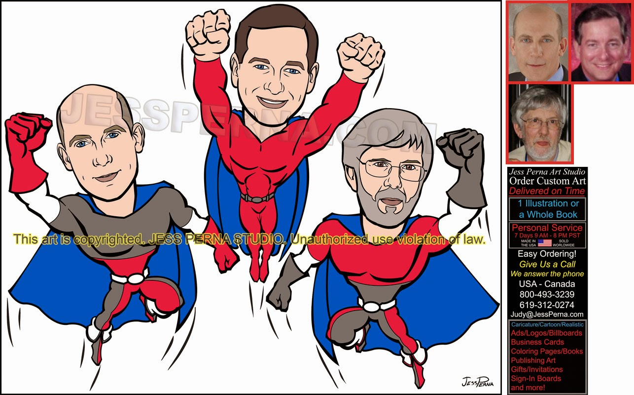 how to order a superhero poster birthday gift caricatures and