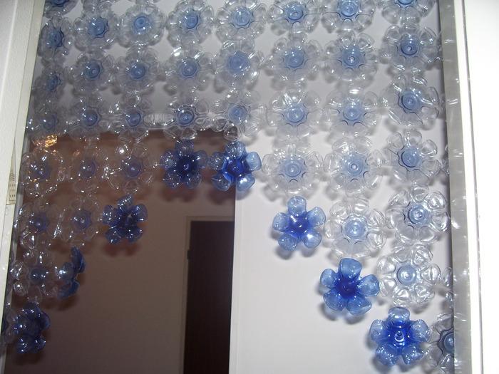 Декоративные шторы из подручных материалов