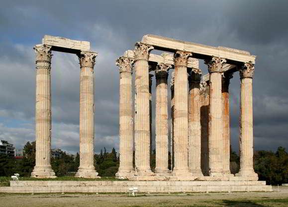 karya seni arsitektur Yunani kuno
