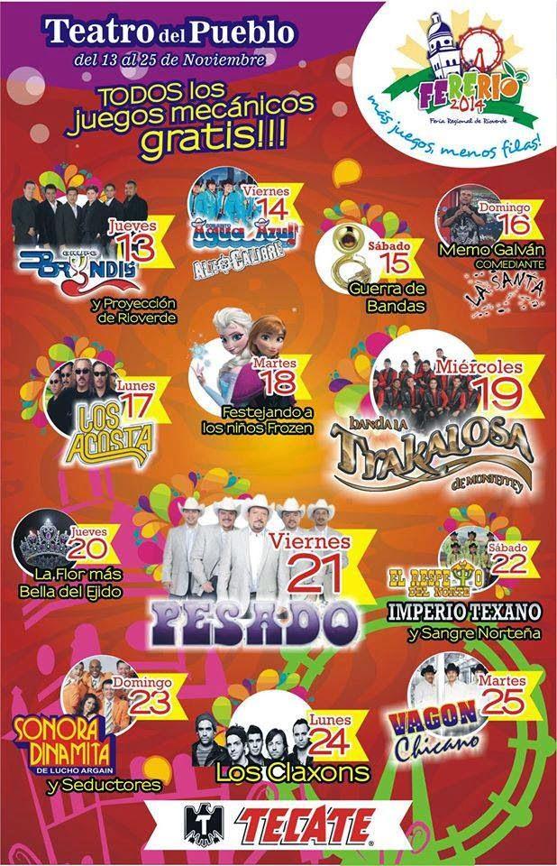 Teatro del pueblo FERERIO 2014 Feria Rio Verde