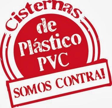 SOMOS CONTRA AS CISTERNAS DE PLÁSTICO