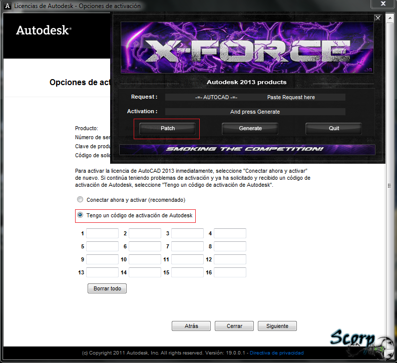 xforce keygen for autocad 2012