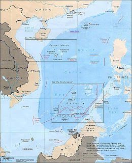 oil energy,southchina sea map