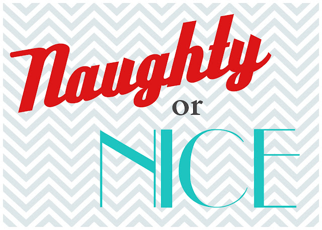 {The Undone Blog} Naughty or Nice printable