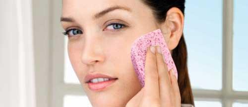 limpieza para prevenir poros abiertos