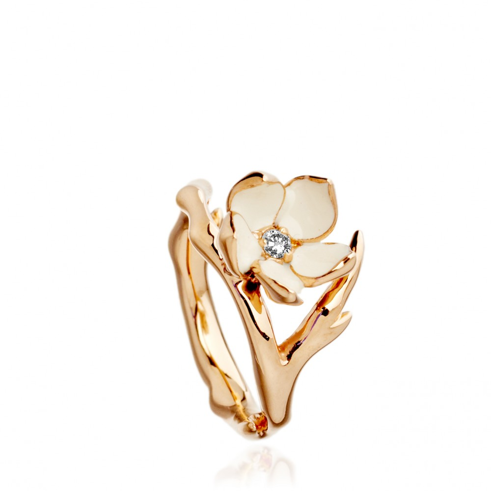 Exclusive Cherry Blossom Ring Fairyblingmother